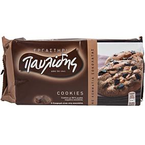 Μπισκότα ΠΑΥΛΙΔΗΣ cookies με σοκολάτα (184g)