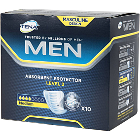 Σερβιέτες TENA ειδική για άντρες για την ακράτεια (10τεμ.)
