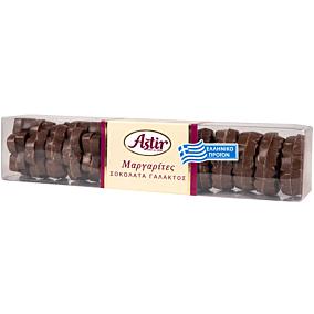Σοκολατάκια ASTIR γάλακτος σε σχήμα μαργαρίτας (250g)