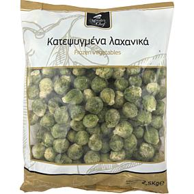 Λαχανάκια Βρυξελλών MASTER CHEF κατεψυγμένα (2,5kg)