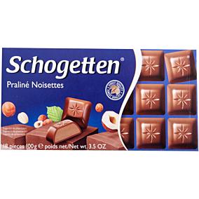 Σοκολατάκια SCHOGETTEN noisettes πραλίνα (100g)