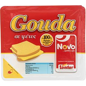 Τυρί NOVO gouda σε φέτες (200g)