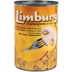 Κονσέρβα LIMBURG μανιτάρια κομμένα (400g)