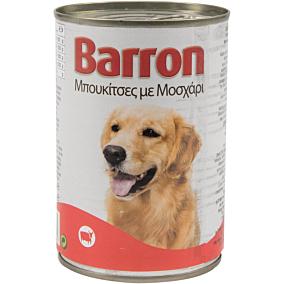 Τροφή BARRON σκύλου βοδινό (400g)