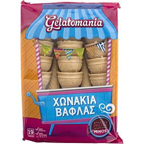 Χωνάκια βάφλας GELATOMANIA (19τεμ.)