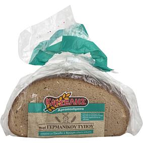 Ψωμί ΚΑΤΣΕΛΗΣ Γερμανικού τύπου σταρένιο (500g)