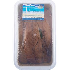 Σκουμπρί ΤΟ ΦΑΝΑΡΙ φιλέτο καπνιστό (1,7kg - στραγγισμένο βάρος 1,2kg)