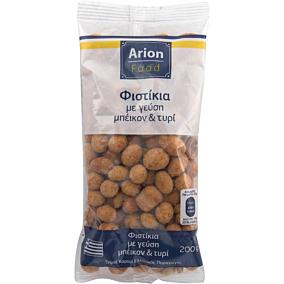 Φυστίκια ARION FOOD με γεύση μπέικον και τυρί (200g)