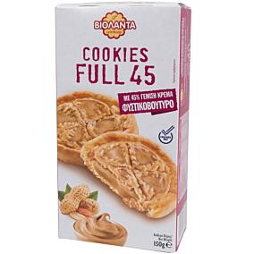 Μπισκότα ΒΙΟΛΑΝΤΑ cookies Full 45 με γέμιση φυστικοβούτυρο (150g)