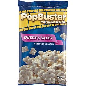 Ποπ κορν POPBUSTER SWEET & SALTY για μικροκύματα (100g)