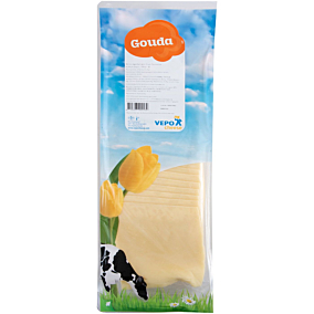 Τυρί VEPO gouda 48% λιπαρά σε φέτες (500g)