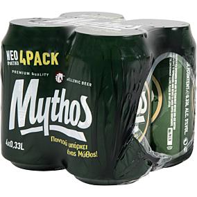 Μπύρα MYTHOS (4x330ml)