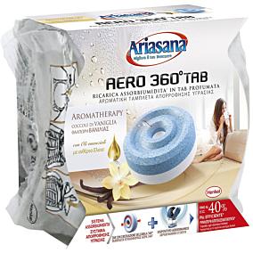Συλλέκτης υγρασίας ARIASANA aero360 tab βανίλια (450g)