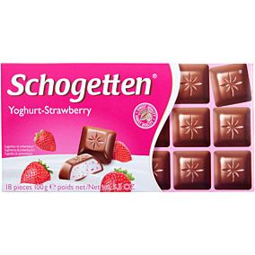 Σοκολατάκια SCHOGETTEN γιαούρτι φράουλα (100g)