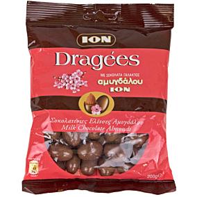 Σοκολατάκια ΙΟΝ Dragees γάλακτος με αμύγδαλο (200g)