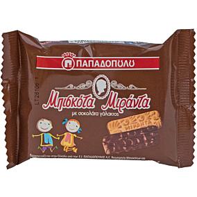 Μπισκότα ΠΑΠΑΔΟΠΟΥΛΟΥ Μιράντα fresh pack με σοκολάτα (12x45g)