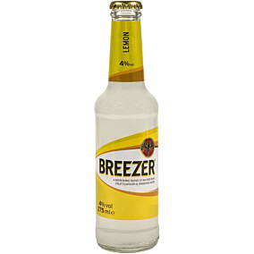 Ρούμι BACARDI Breezer Lemon (24x275ml)