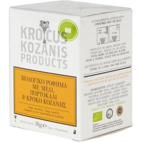 Αφέψημα KROCUS KOZANIS με μέλι, πορτοκάλι και Κρόκο Κοζάνης βιολογικό (bio) (10τεμ.)