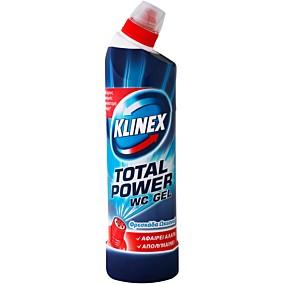 Καθαριστικό KLINEX WC gel φρεσκάδα ωκεανού (750ml)