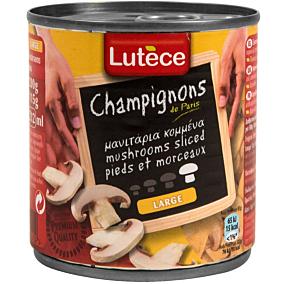 Κονσέρβα LUTECE μανιτάρια κομμένα (200g)