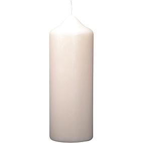 Κερί κορμός KCB λευκό 58x130mm