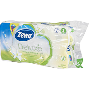 Χαρτί υγείας ZEWA Deluxe γιασεμί (8τεμ.)
