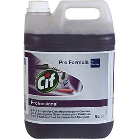Καθαριστικό και απολυμαντικό CIF για την κουζίνα (5lt)