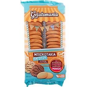 Μπισκοτάκι Gelatomania MINOS για παγωτό (200g)