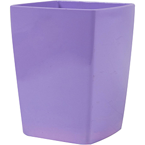Μολυβοθήκη τετράγωνη πλαστική