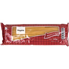 Μακαρόνια ΜΑΡΑΤΑ σπαγγέτι Νο.5 - τρυπητά (500g)