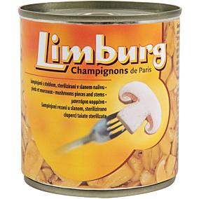 Κονσέρβα LIMBURG μανιτάρια κομμένα (200g)