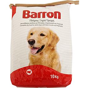 Τροφή BARRON σκύλου με μοσχάρι, δημητριακά και λαχανικά (10kg)