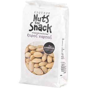 Αμύγδαλα SDOUKOS Nuts For Snack λευκό ωμά (200g)