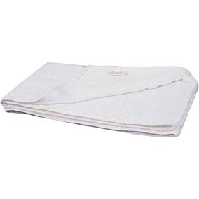 Πετσέτα RESORT LINE προσώπου 100% βαμβακερή λευκή 50x100cm