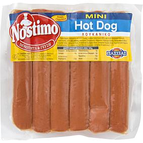 Λουκάνικα ΠΑΣΣΙΑΣ Nostimo mini hot dog (500g)