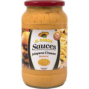 Σάλτσα EL SABOR τυριού με χαλαπένιο (1lt)