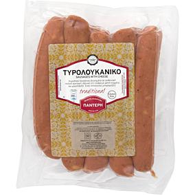 Λουκάνικα ΠΑΝΤΕΡΗ χωριάτικα πικάντικο με τυρί (1kg)