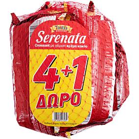 Κρουασάν SERENATA με γέμιση κρέμα κακάο 4+1ΔΩΡΟ (5x70g)