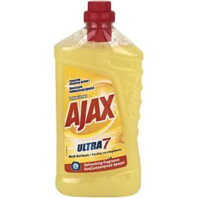Καθαριστικό AJAX για το πάτωμα με άρωμα λεμόνι, υγρό (1lt)