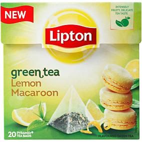 Τσάι LIPTON πράσινο με άρωμα λεμόνι καραμέλα (20x1,4g)