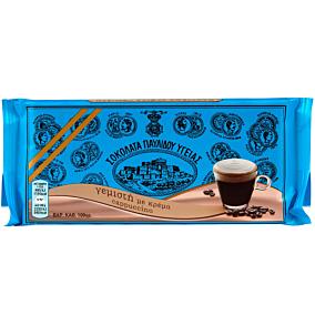 Σοκολάτα ΠΑΥΛΙΔΗΣ υγείας με κρέμα καπουτσίνο (100g)