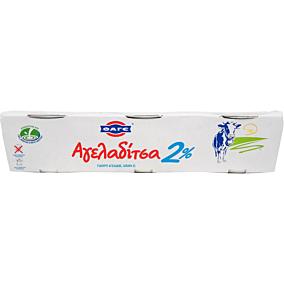 Γιαούρτι ΦΑΓΕ αγελαδίτσα 2% λιπαρά (3x200g)