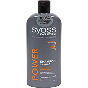 Σαμπουάν SYOSS men power & strength για άντρες (500ml)