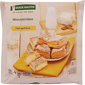Μπουγατσάκια BAKER MASTER με σφολιάτα κατεψυγμένα (450g)
