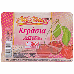Κεράσι MINOS art & deco ζαχαρόπηκτο (150g)