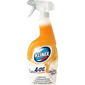 Καθαριστικό και απολυμαντικό KLINEX 4σε1 για την κουζίνα, σε σπρέι (750ml)