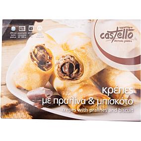 Κρέπα CASTELLO με πραλίνα και μπισκότο κατεψυγμένη (350g)