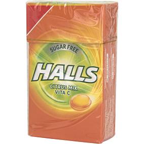 Καραμέλες HALLS Vitamin-C citrus mix (12τεμ.)