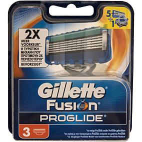 Ανταλλακτικά ξυραφάκια GILLETTE proglide (3τεμ.)