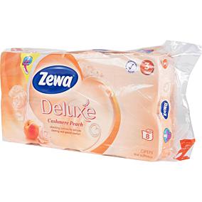 Χαρτί υγείας ZEWA Deluxe ροδάκινο (8τεμ.)